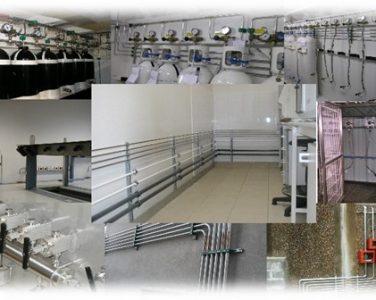 (Français) Montage de tuyauterie en laboratoire